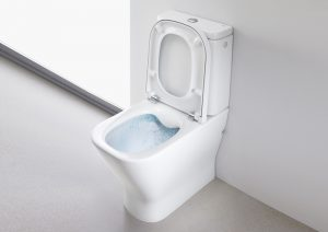 Roca rimless toilet